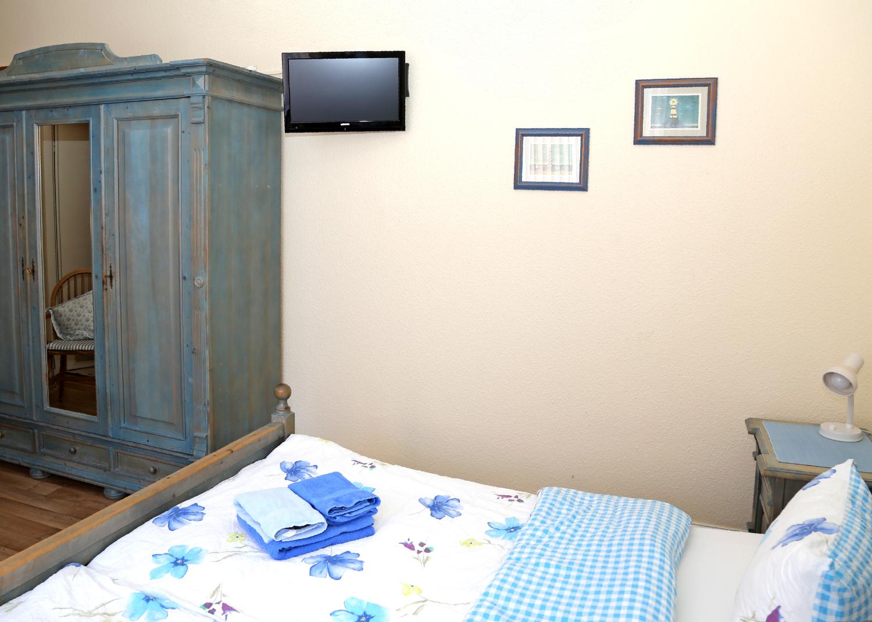 Doppelzimmer blau